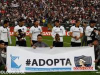 """Świetna akcja! Piłkarze Colo Colo """"wyprowadzani"""" przez psiaki ze schroniska"""