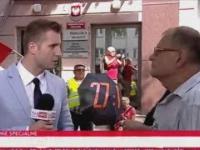 Dziennikarz TVP zgasił agresywnego zwolennika Tuska