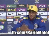 Emocjonalne pożegnanie Neymara z zawodnikami Barcelony!