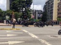 Eksplozja podczas tłumienia demonstracji w Wenezueli