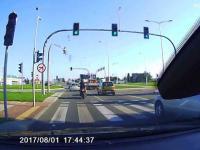 Groźny wypadek motocyklisty w Krośnie