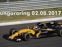 Testy F1 Hungaroring, Kubica w bolidzie RS17