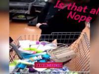 Kobieta pobiła rekord w próbie kradzieży