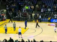 Stephen Curry: warmup shots