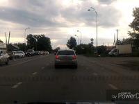 Pojazd uprzywilejowany na rosyjskiej szosie