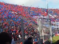 Kibice San Lorenzo w akcji