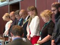 Modlitwa przed posiedzeniem rady miasta Oldham