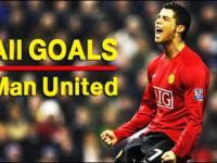 Wszystkie 118 bramek Cristiano Ronaldo strzelonych dla Manchesteru United