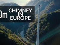 Wspinaczka na najwyższy komin w Europie | 360m | DRON