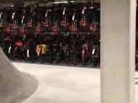 Parking rowerowy w Utrechcie, Holandia.