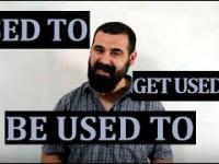 Used to, be used to, get used to | ROCK YOUR ENGLISH 16