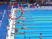 Hiszpańskiemu pływakowi odmówiono minuty ciszy po zamachu