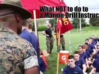Czego nie mówić do instruktora musztry marines