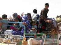 Uchodźcy powracają pod ochroną rosyjskich wojsk do Aleppo