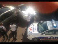 Francuska policja zastrzeliła szaleńca z nożem, próbującego uciekać autem