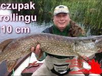 KOLEJNA METRÓWA NA ŁODZI/SZCZUPAK 110cm Z TROLLINGU/BIG PIKE/FISHING