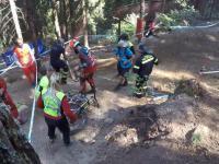 Greg Minnaar łamie ramę Santa Cruz V10 podczas treningu Downhill w Val di Sole