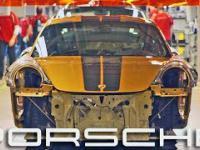 Linia produkcyjna Porsche 911 Turbo S.