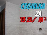 Jak Zrobić Cegiełkę Na Ścianie za 13zł/m² DIY
