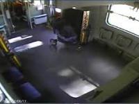 Wypadek kolejowy pod Iławą. Nagranie z wnętrza pociągu