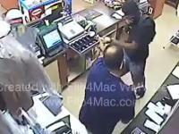Sprzedawca zastrzelił bandytę, który napadł na sklep