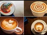 Latte art - Sztuka malowania mlekiem na kawie