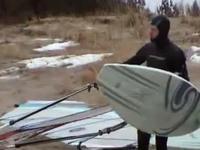 Icy Windsurf - no mnie zaiponował...