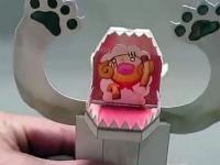 Interaktywne zabawki wykonane z papieru