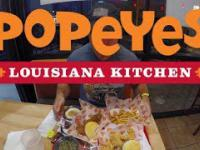 USA: Test jedzenia w Popeyes Louisiana Kitchen