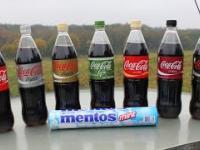 7x Coca-cola + Mentos 19