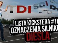 Oznaczenia silników Diesla - Lista Kickstera 10
