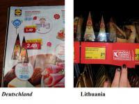 Ceny i zarobki na Litwie, porównanie z Zachodnią Europą. Szokująca informacja.