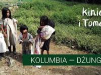 Kolumbia. Plantacje koki, Indianie, 5 dni w dżungli.