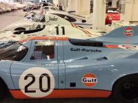 Tajny garaż przy fabryce Porsche