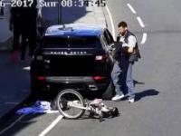 Imigrant w biały dzień okrada samochód w Wielkiej Brytanii