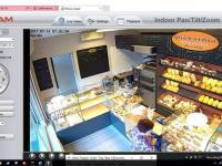 Troll na kamerce IP w polskiej piekarni