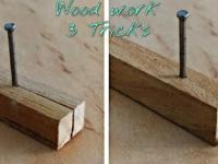 Proste sztuczki, które ułatwią pracę z drewnem
