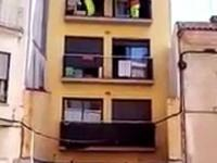 Szybka przeprowadzka sofy z 3 piętra