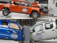 Crashtesty pickupów - Chevrolet Colorado, Toyota Tacoma, Nissan Frontier