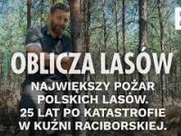 Największy pożar polskich lasów