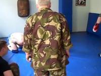 Egzamin wstępny ze sztuki walki dla kandydatów do rosyjskich sił specjalnych