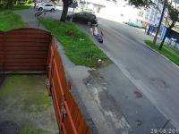 Bolesny wypadek z udziałem motocyklisty