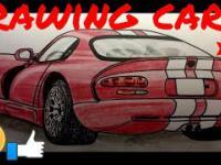 Rysowanie Dodga i Audi
