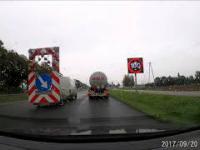 Wypadek cysterny w Warszawie