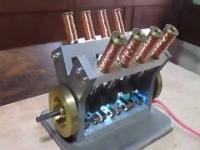 Odpalanie miniaturowych silników elektromagnetycznych