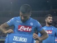 Piłkarze Napoli i nieudana cieszynka z dedykacją dla kontuzjowanego Arka Milika