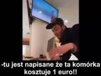 Napływowy obywatel Niemiec (imigrant) chce kupić Iphona za 1 euro