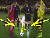 Zabawny rytuał przedmeczowy bramkarza Borussii Dortmund