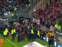 Francja: wypadek na stadionie, mecz przerwany