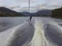 Wakeboarding with darude...